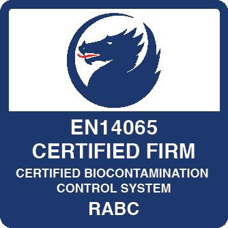 EN14065 Certified Firm